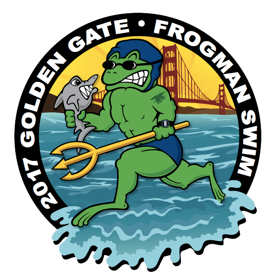 Golden Gate Frogman Swim Photo