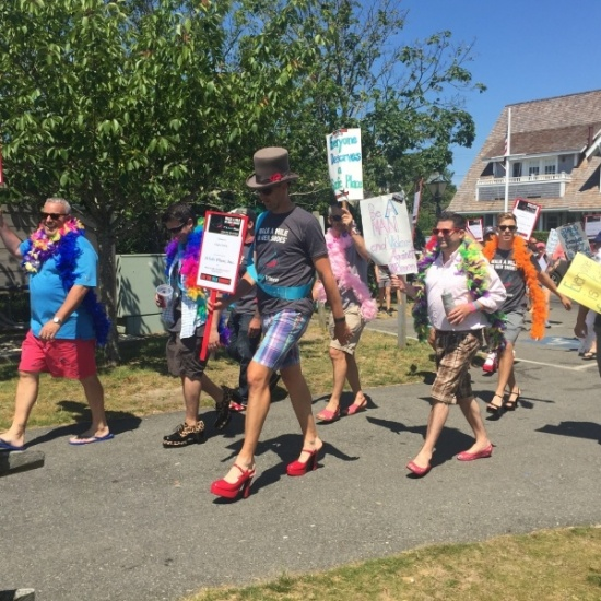 Walk a Mile in Her Shoes Nantucket 2017 Photo