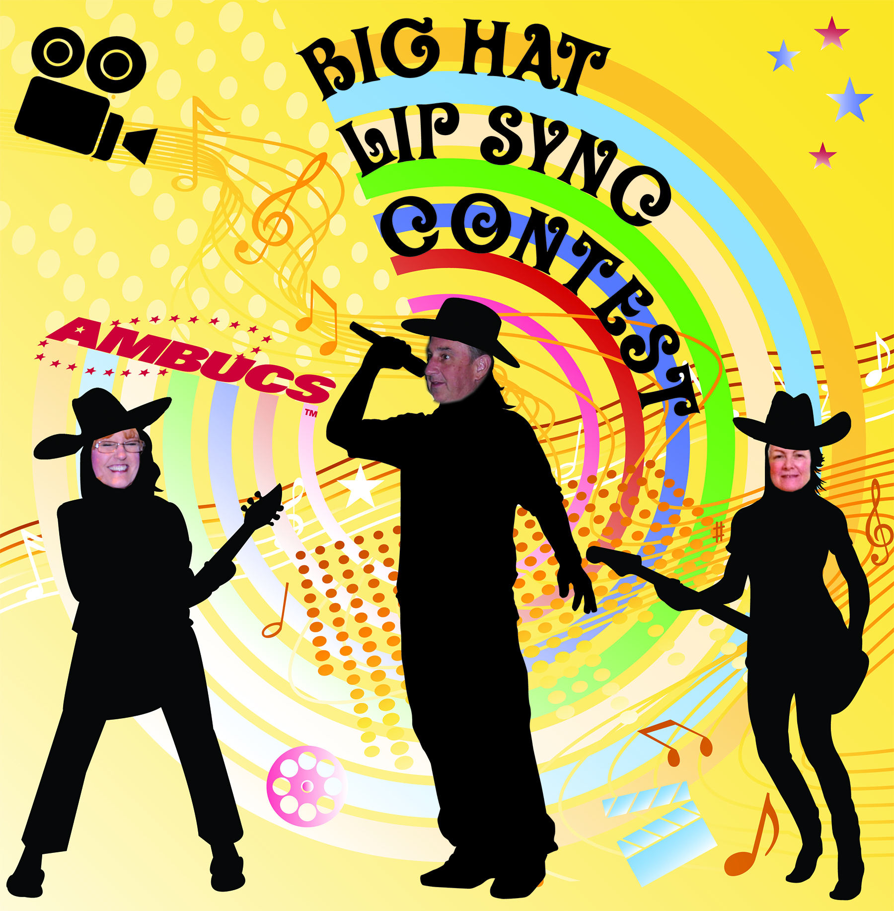 Big Hat Lip Sync Contest Photo
