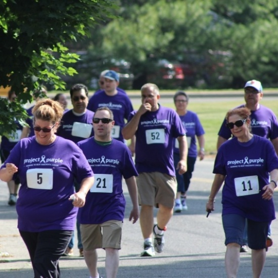 Project Purple Steps for a Cure Photo