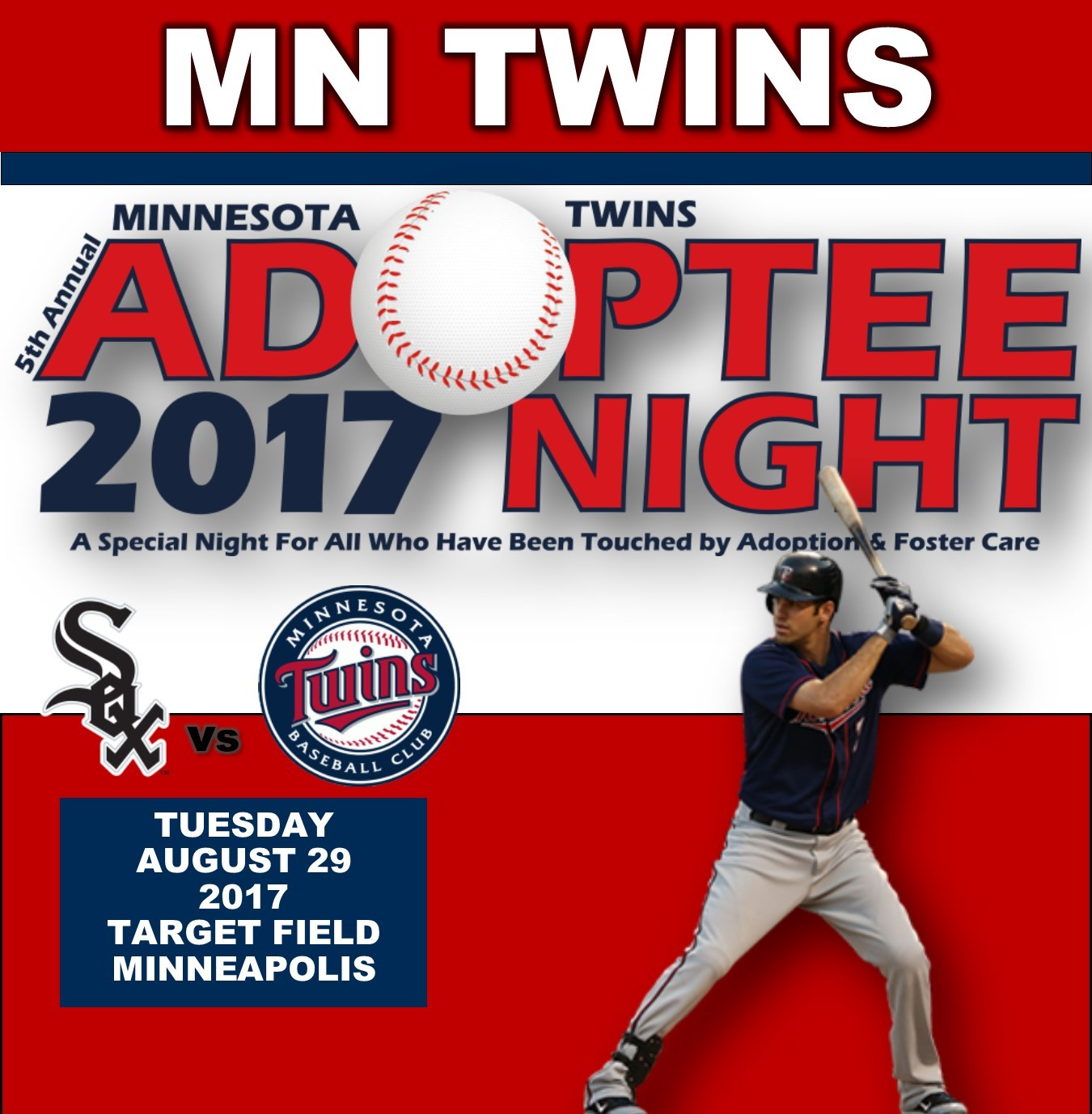 5TH ANNUAL MN TWINS ADOPTEE NIGHT 2017 Photo