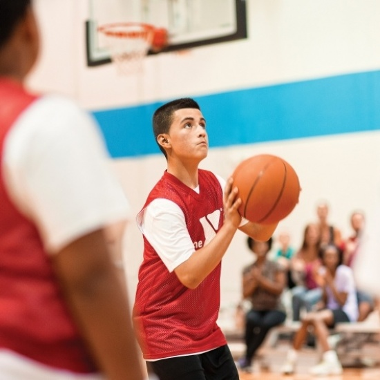 Steps for Good - Prospect Park Youth Basketball Shootout Photo