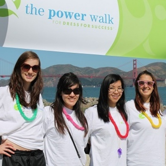 The Power Walk for Dress for Success San Francisco Photo