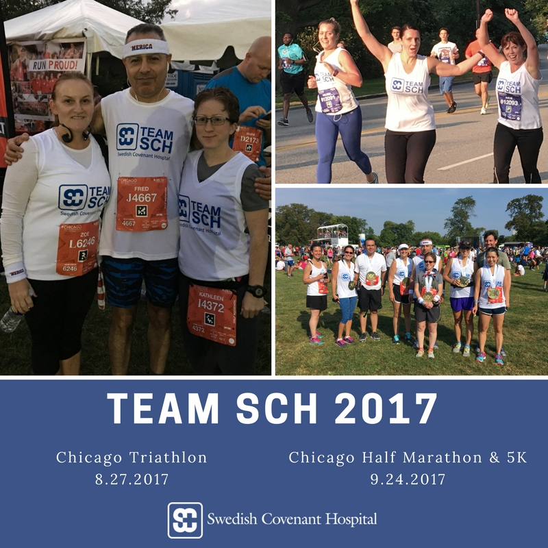 2017 Team SCH Chicago Triathlon Photo