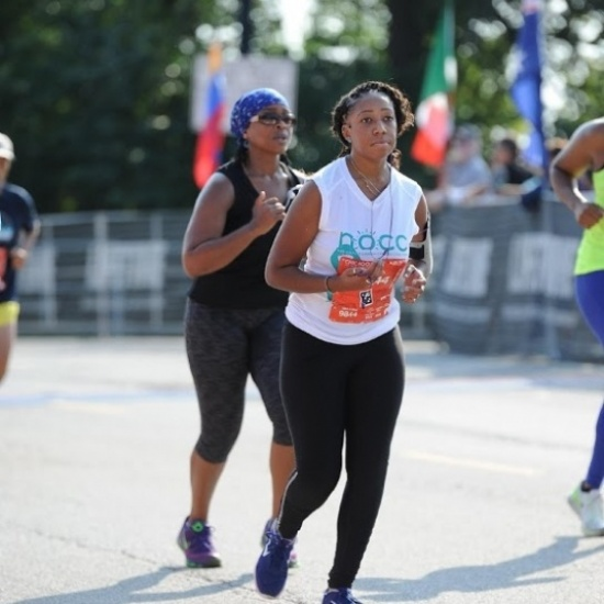 2017 NOCC-IL Team Teal runs Chicago Half Marathon Photo