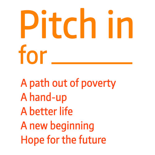 Pitch In Photo