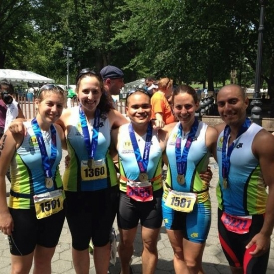 2017 EACH NYC Triathlon Fundraiser Photo