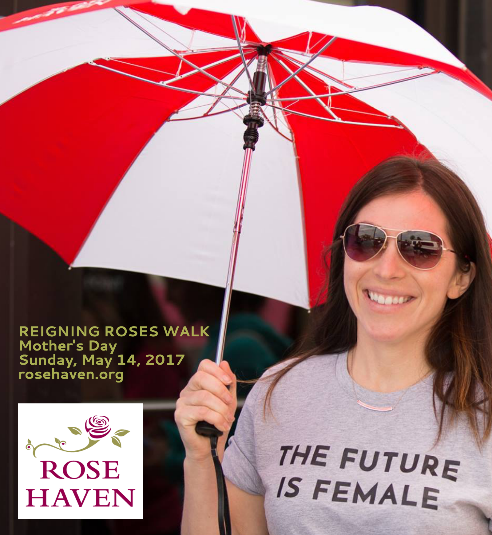 Reigning Roses Walk 2017 Photo
