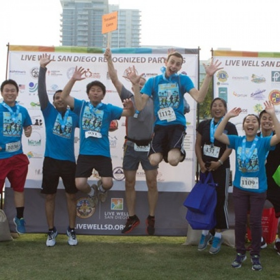 2017 Live Well San Diego 5K in partnership with San Diego Blood Bank Photo