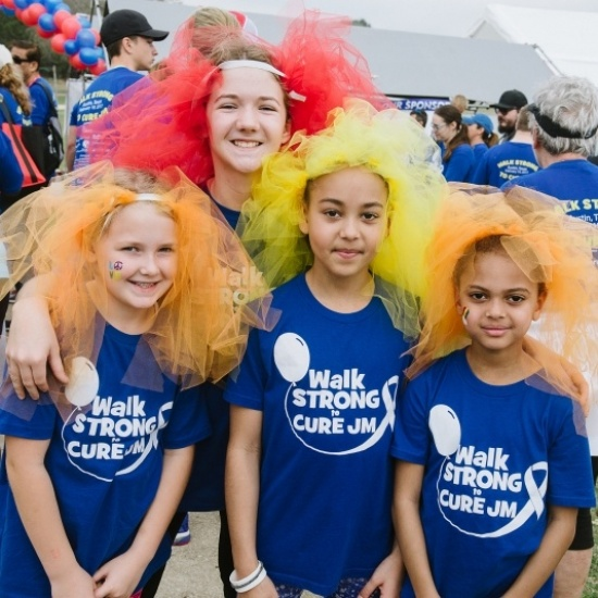 Walk Strong to Cure JM - Houston Photo