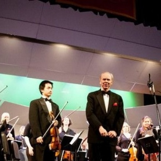 A Season Finale and Farewell to Maestro Hobart Photo