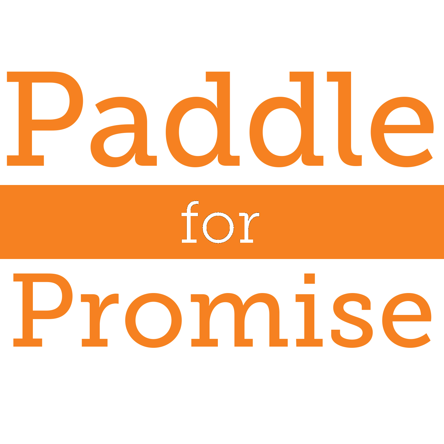 Paddle for Promise Photo