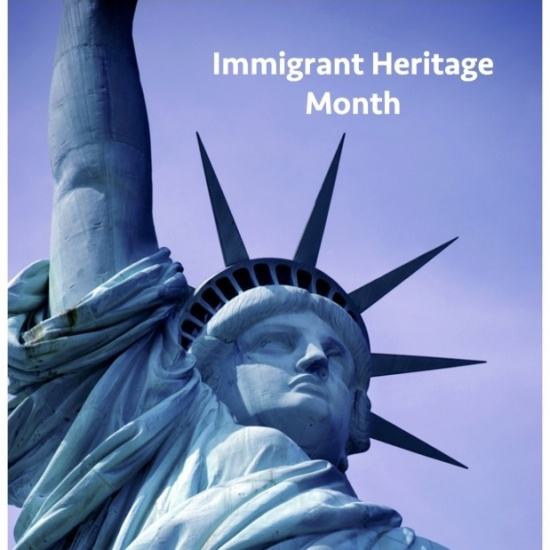 Immigrant Heritage Month Campaign Photo