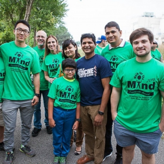 2017 Mark Linder Walk for the Mind Photo
