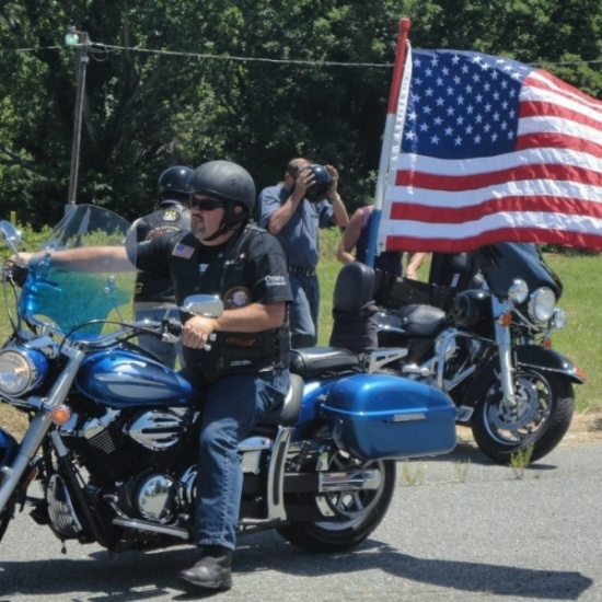 13th Annual Miles for Military Motorcycle Ride Photo