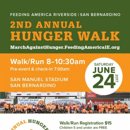 2nd Annual Hunger Walk TEAM SIGN UP Photo