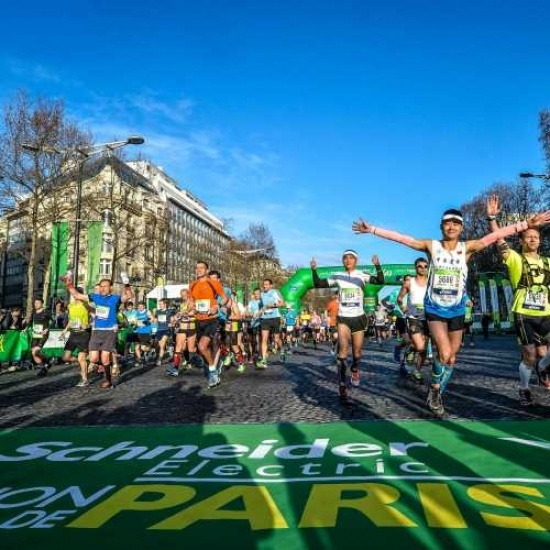 2018 Paris Marathon Photo
