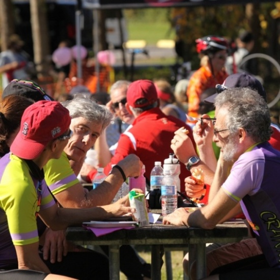 2017 Syracuse Bicycle Breast Cancer Awareness Ride Photo