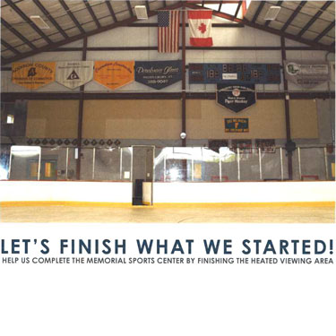 HEAT IT UP: MEMORIAL SPORTS CENTER - FINISH THE UPSTAIRS. Photo