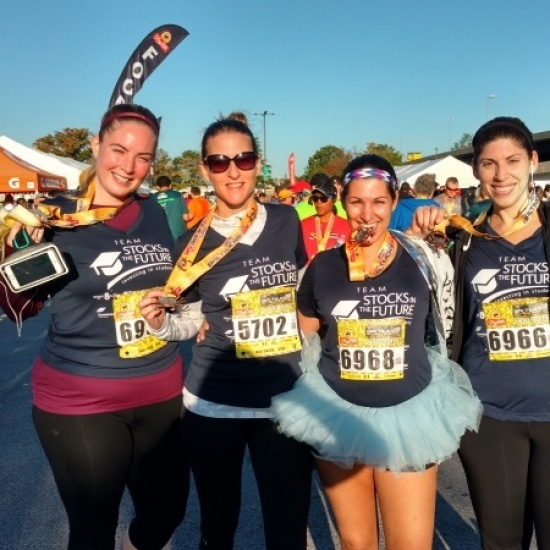 Team Stocks in the Future - 2017 Baltimore Running Festival Photo