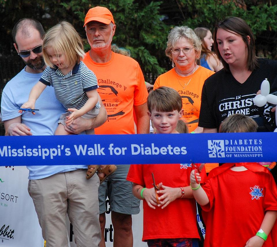 Oxford Mississippi's Walk for Diabetes2017 Photo