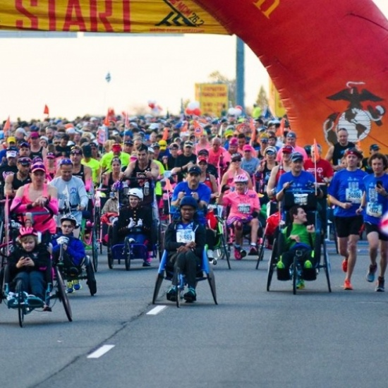 Kyle Pease Foundation + 2017 Marine Corps Marathon Photo