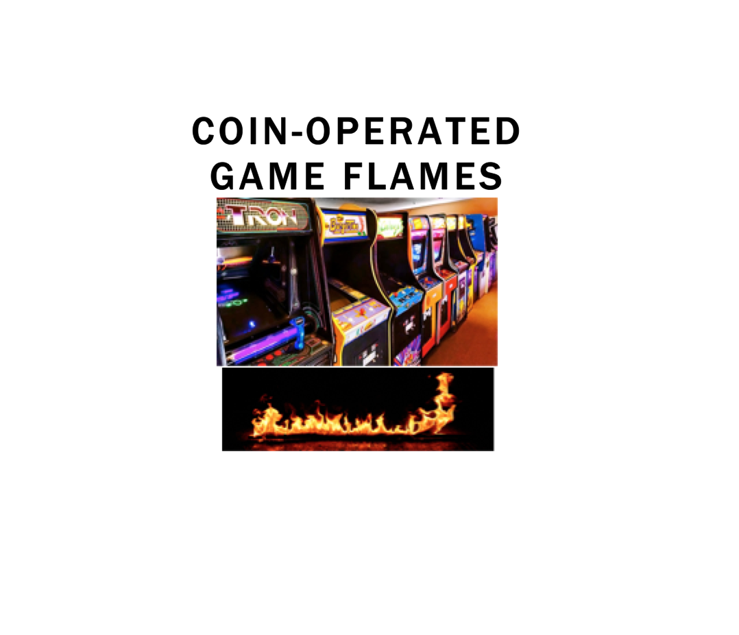 Coin-Operated Game Flames Photo