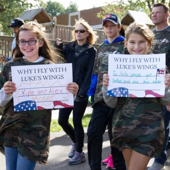 Luke's Wings Walk to Fly Photo