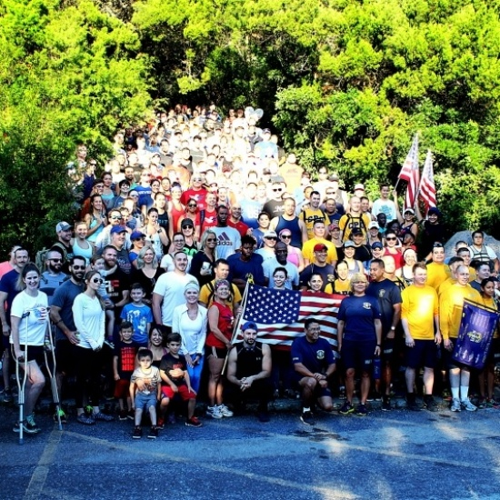 BFST's 7th Annual 9/11 Memorial Mt Climb Photo