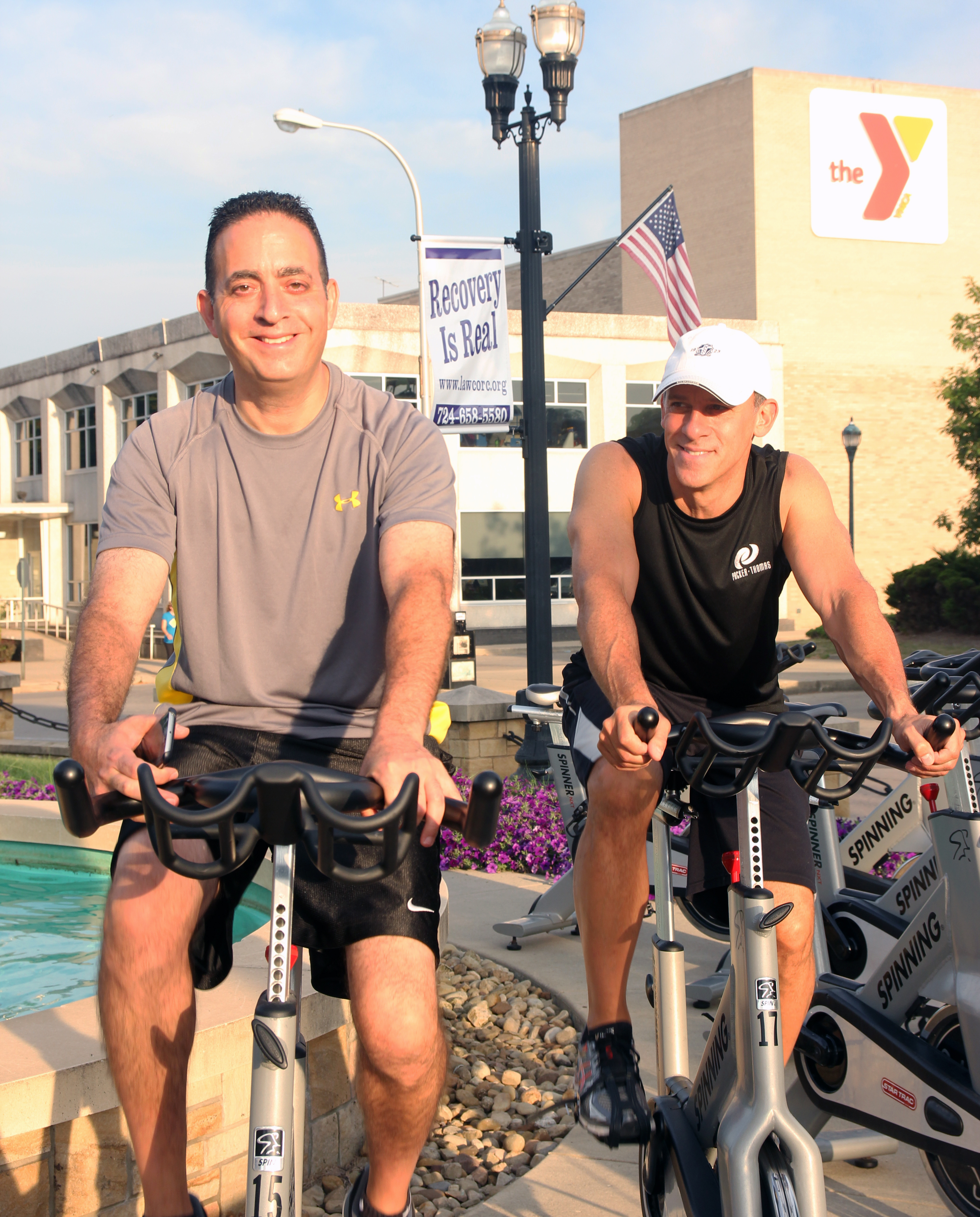 2017 New Castle YMCA Spin-a-thon Photo