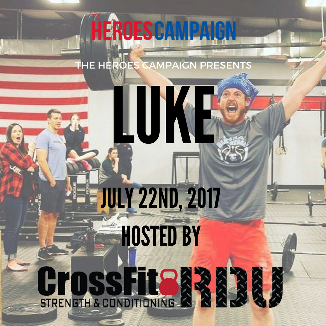 The Heroes Campaign - at CrossFit RDU Photo