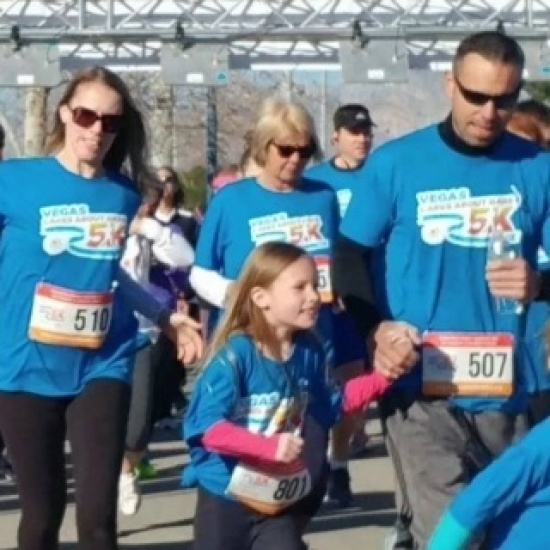 2018 Vegas Cares About Rare Kids 5K Photo