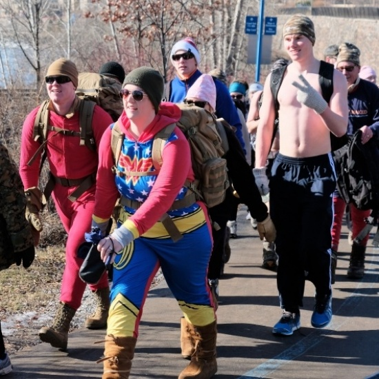 Nearly Naked Ruck March - Twin Cities Photo