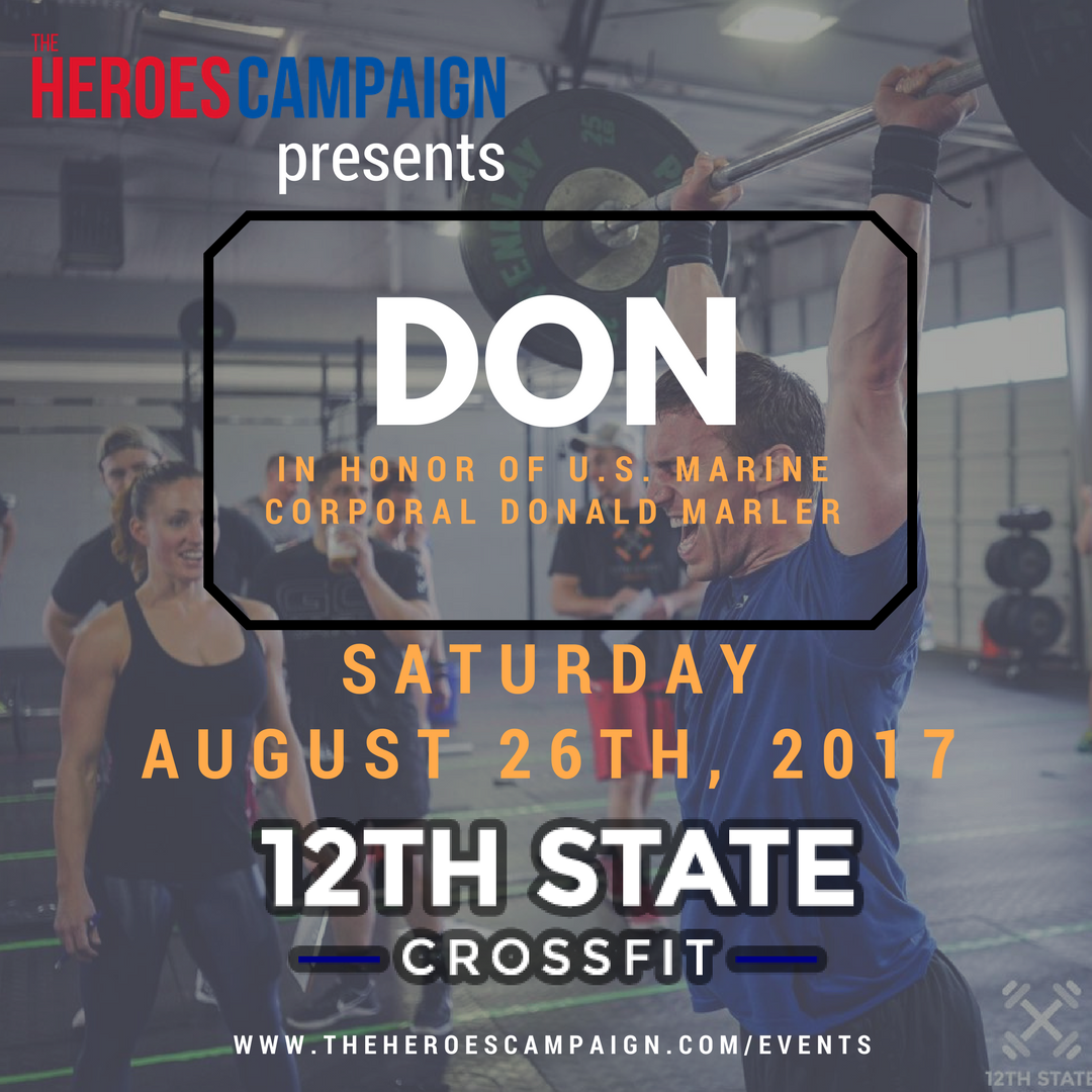 The Heroes Campaign at 12TH State CrossFit Photo