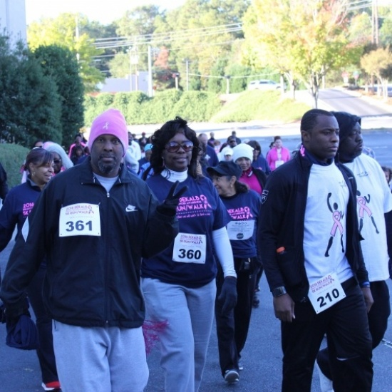 2017 Uniting DeKalb for a Cure Breast Cancer Walk Photo