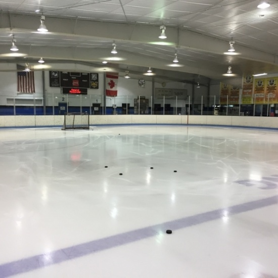 Charity 3v3 ice hockey tournament presented by Fleece & Thank You Photo