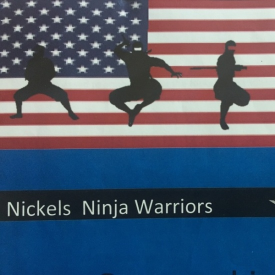 Nickel's Ninja Warriors Photo