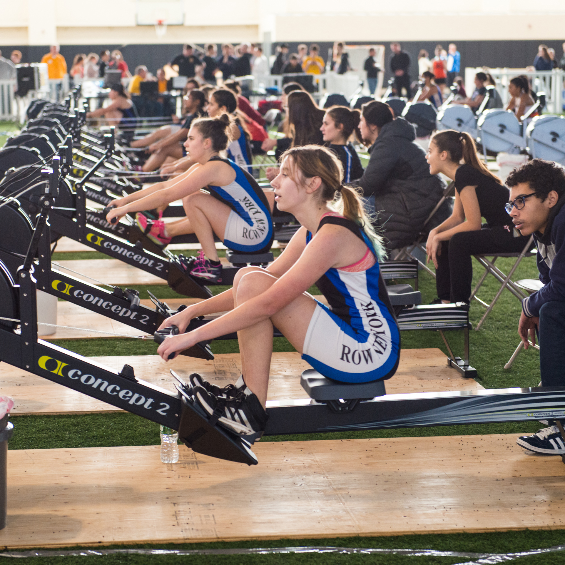 Run and Row New York at the Armory Photo
