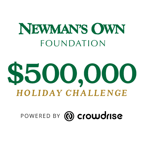 Newman's Own Foundation $500k Holiday Challenge - Click Here for the Official Rules Photo