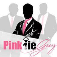 Pink Tie Guy Fundraiser Photo
