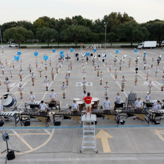 Mighty Mustang Band March-a-thon Photo
