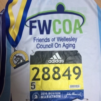 Friends of Wellesley Council on Aging 2017 Boston Marathon