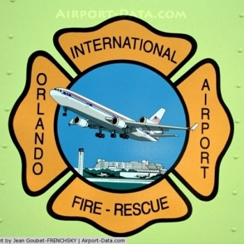 The Orlando International Airport Fire Rescue Image