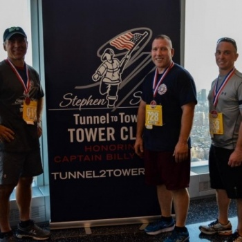 Jason stacoffe - Tunnel to Towers Tower Climb NYC