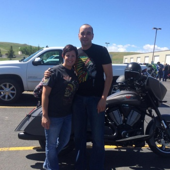 Roberts return to riding the open road