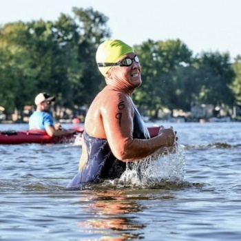 Laura's Swim to the Moon/Swimming for Camp for Children with Chronic Illnesses