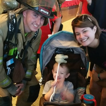 Lanie Stanley - New Orleans 9/11 Memorial Stair Climb 2017 Image