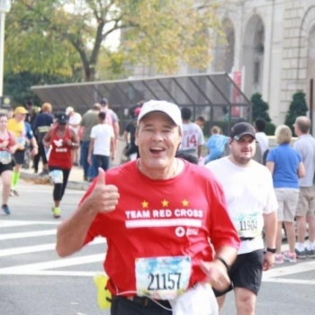 Team Red Cross - Marine Corps Marathon 2017