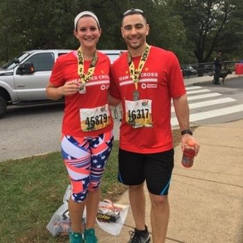 Team Red Cross - Marine Corps 10k 2017