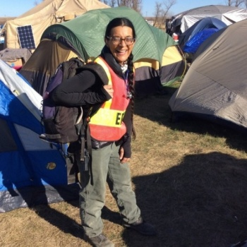 Support  protector Vanessa on her RETURN FROM Standing Rock!